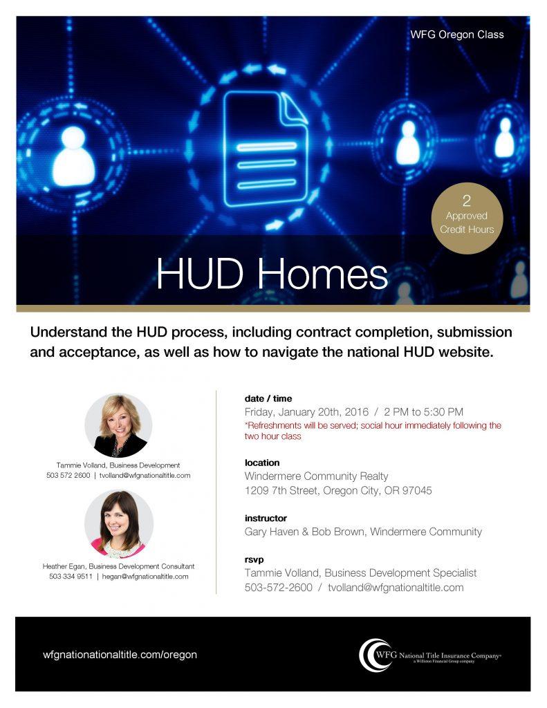 HUD Homes 1-20-2017